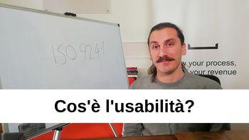Cosa è l'usabilità e come si misura?