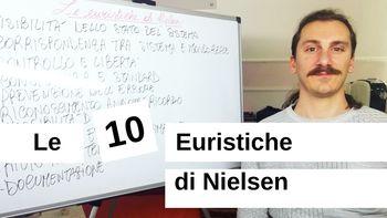 Valutazione euristica con le 10 Euristiche di Jakob Nielsen